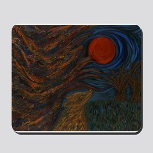 Gothic Wolf Mousepad