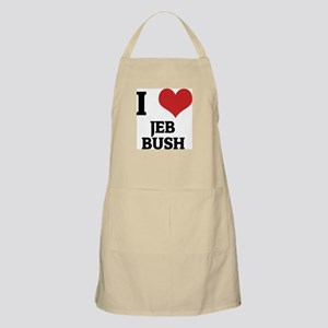 I Love Jeb Bush BBQ Apron