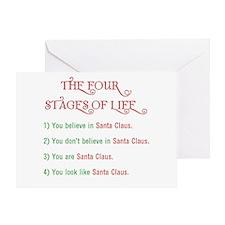 Like Santa Claus Greeting Card