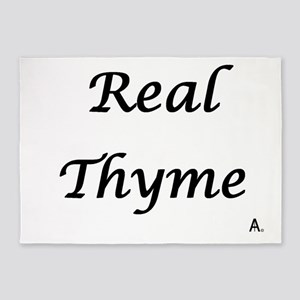 Real Thyme 5'x7'Area Rug