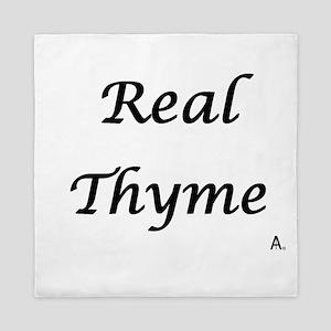 Real Thyme Queen Duvet