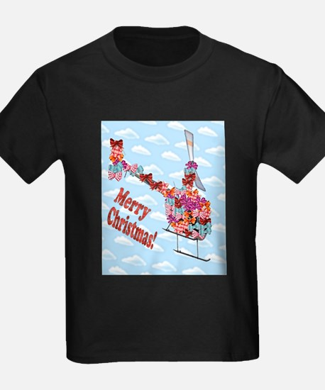 Helicopter Christmas Gift T