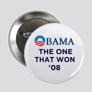 "OBAMA The One That Won '08 2.25"" Button"