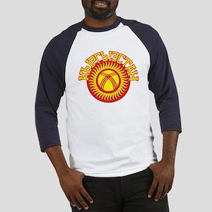 Kyrgyzstan Cyrillic Baseball Jersey