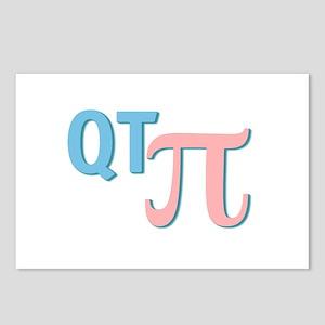 QT Pi (Cutie Pie) Postcards (Package of 8)