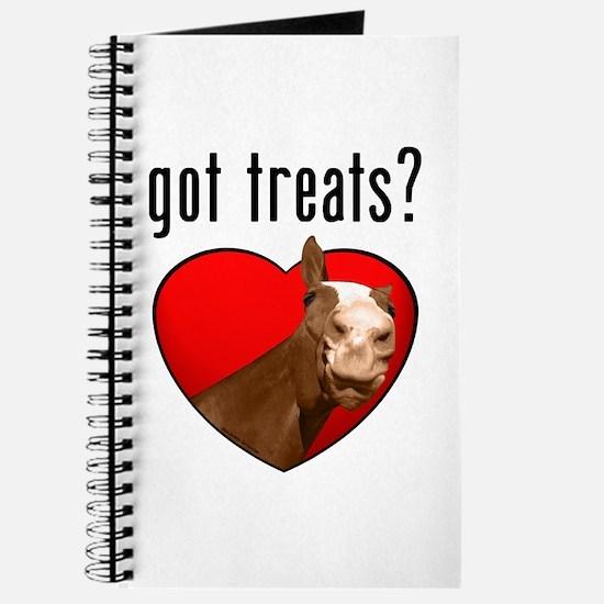 Got Treats? Cute Horse Journal