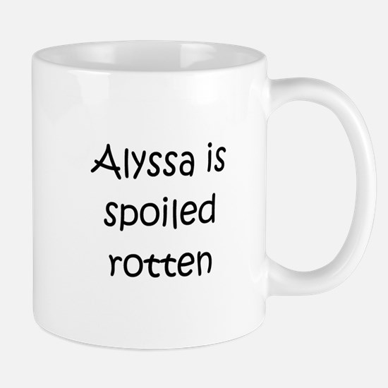 Unique Alyssa Mug
