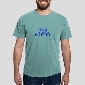 The Man Myth Legend JEFFREY-bod blue T-Shirt