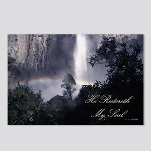 He Restoreth My Soul Postcards (Package of 8)