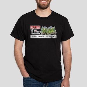 Forest Fires Dark T-Shirt