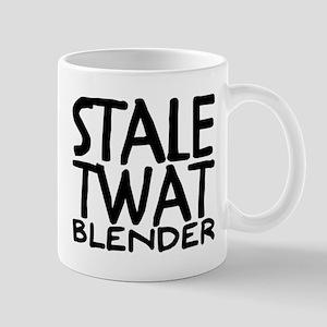 stale twat blender Mugs
