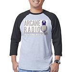 Arcane Radio Mens Baseball Tee