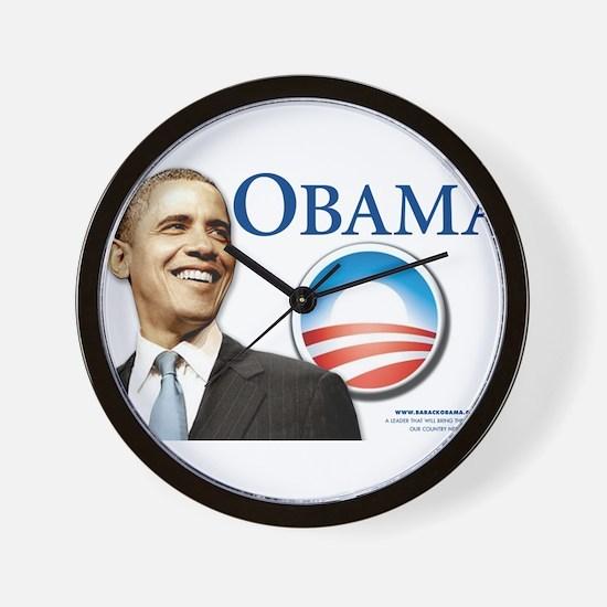 Funny Pro obama Wall Clock