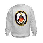 USS ESTOCIN Kids Sweatshirt