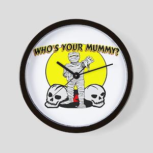 Your Mummy Wall Clock