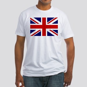 Union Jack/UK Flag Fitted T-Shirt