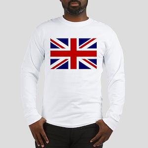 Union Jack/UK Flag Long Sleeve T-Shirt