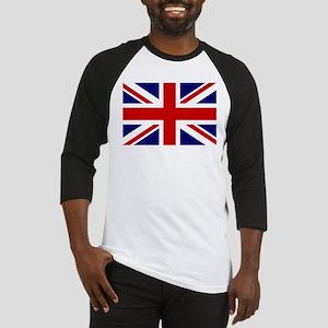 Union Jack/UK Flag Baseball Jersey