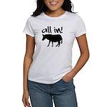 All In Poker Women's T-Shirt