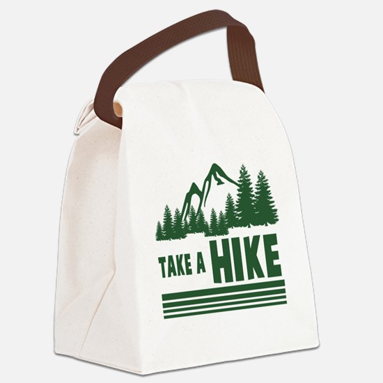 Funny Funny hiking Canvas Lunch Bag