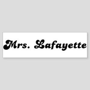 Mrs. Lafferty Bumper Sticker