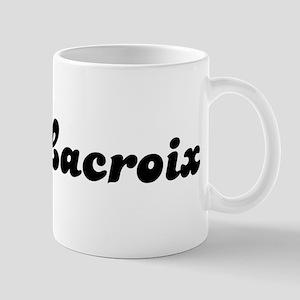Mrs. Lacroix Mug