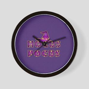 Hocus Pocus Magic Purple Wall Clock