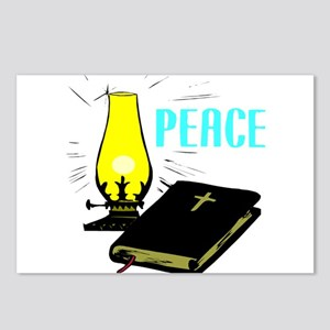 Peace and Bible Postcards (Package of 8)
