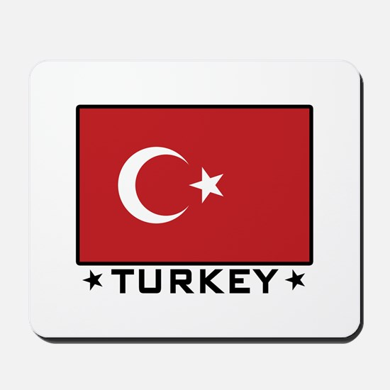 Flag of Turkey Mousepad