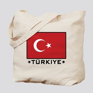 Flag of Turkiye Tote Bag