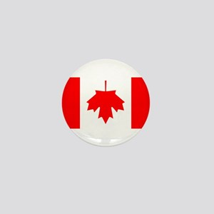 Inverted Canadian Flag Mini Button