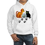 Fish Bowl Kitty Hooded Sweatshirt