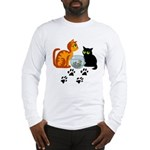 Fish Bowl Kitty Long Sleeve T-Shirt