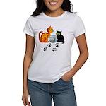 Fish Bowl Kitty Women's T-Shirt