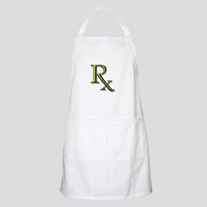 Pharmacy Rx BBQ Apron