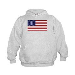 American Flag Kids Hoodie