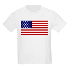 American Flag Kids Light T-Shirt