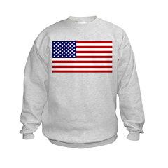 American Flag Kids Sweatshirt