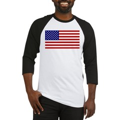 American Flag Baseball Jersey