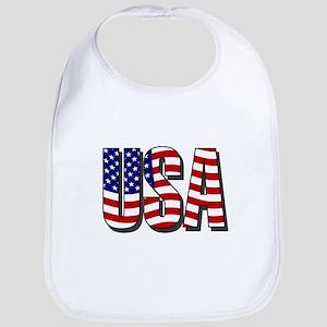 U.S.A. Bib