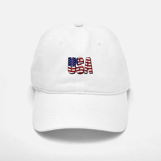 U.S.A. Baseball Baseball Cap