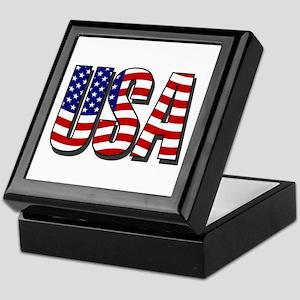 U.S.A. Keepsake Box