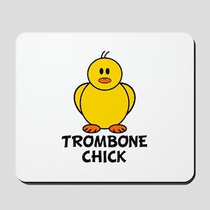 Trombone Chick Mousepad