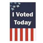 I Voted Today Postcards (Package of 8)