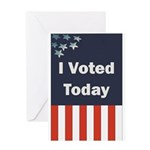 I Voted Today Greeting Card
