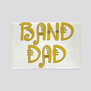 Band Dad Rectangle Magnet