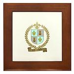 d'ENTREMONT Family Crest Framed Tile