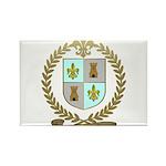 d'ENTREMONT Family Crest Rectangle Magnet (100 pac
