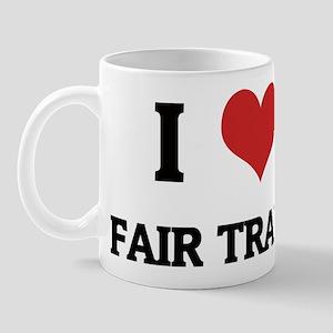 I Love Fair Trade Mug
