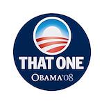 Obama THAT ONE 08 Sig Blue 3.5